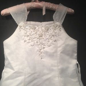 Us Angels Dresses - US Angels Bridal Party Flower Girl Dress Size 12X